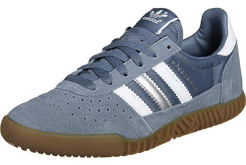 detailed images store wholesale dealer adidas Indoor Super Homme Baskets Mode Gris: Amazon.fr ...
