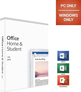 Office 2019 Home and Student - English - New - 1 PC - Box - KeyCard
