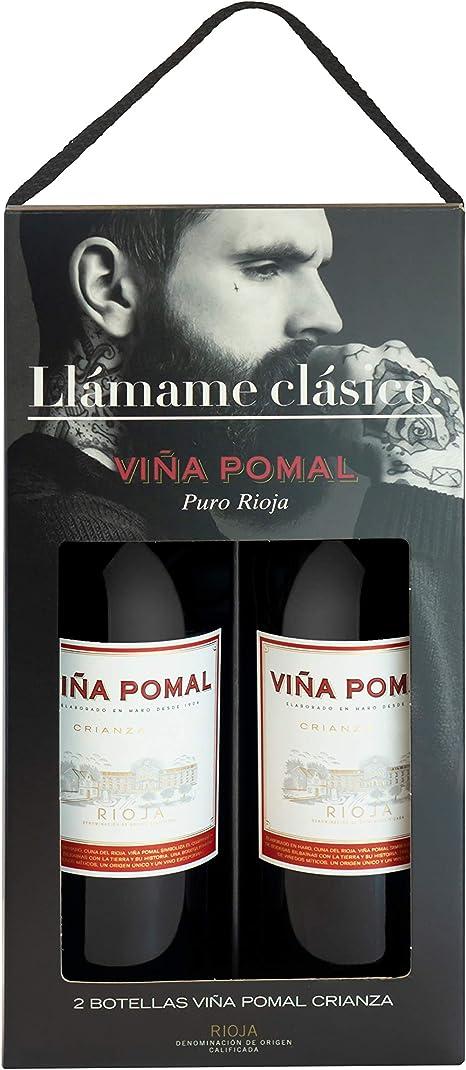Viña Pomal | Estuche regalo Vino Tinto Crianza Viña Pomal | 2 botellas de 75 cl: Amazon.es: Alimentación y bebidas