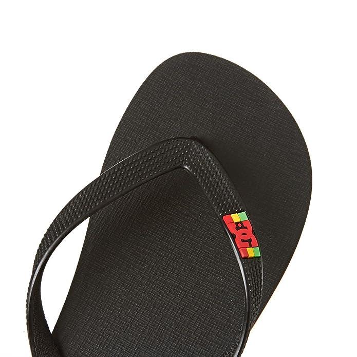 Dc Shoes Spray M Sndl Rst, Man, Color: Rasta, Size: 40.5 Eu (8 Us / 7 Uk)