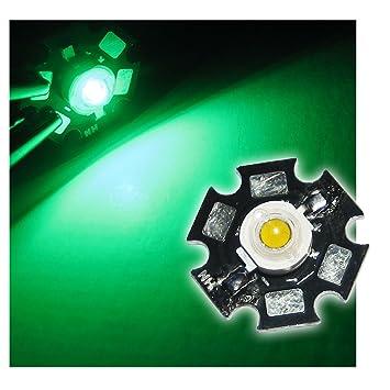 Hochleistungs LED Chip auf Platine 3W BLAU HIGHPOWER
