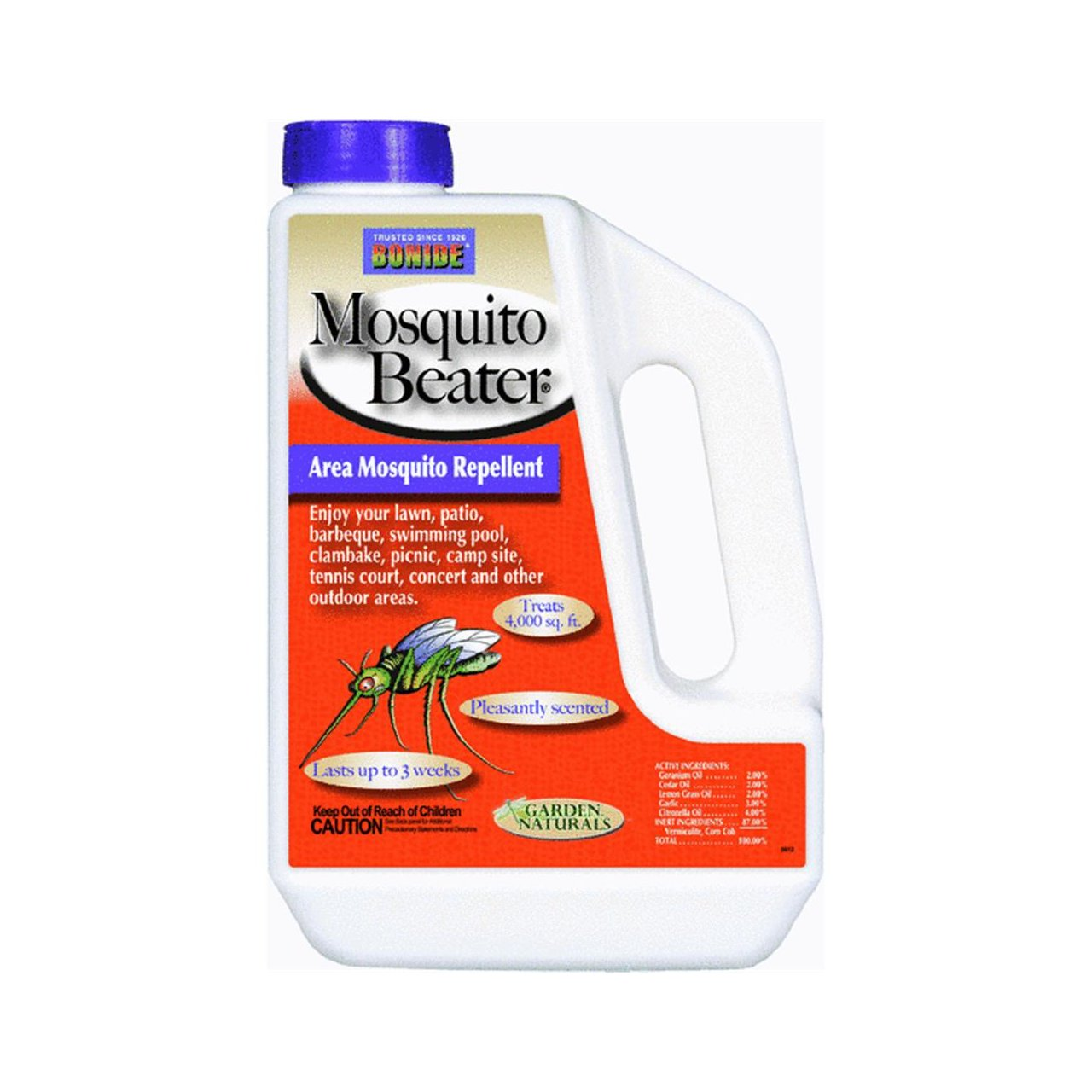 amazon com bonide mosquito beater natural granules 1 3lbs