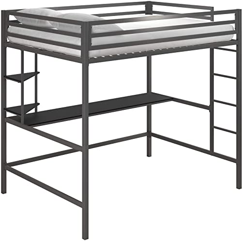 Novogratz Maxwell Metal Full Loft Desk Shelve