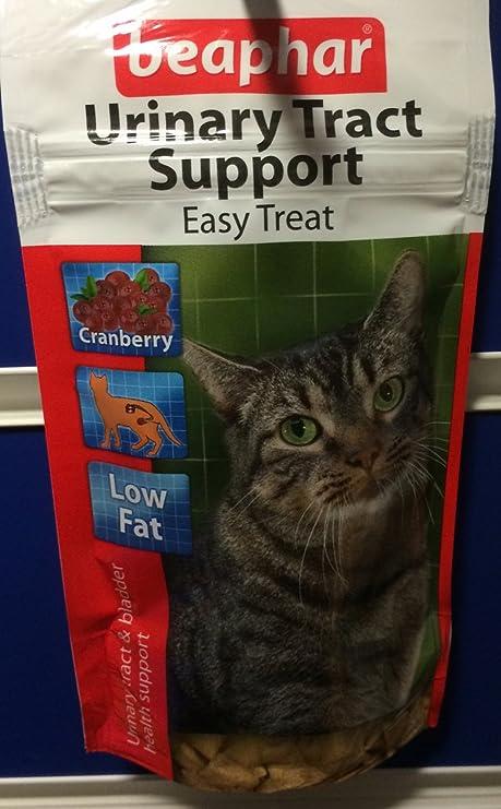 Beaphar – tracto urinario apoyo fácil tratar para gatos bajo contenido de grasa