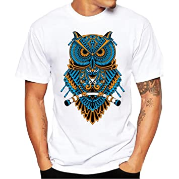 Camiseta Hombre , ❤ Amlaiworld Camisetas manga corta hombre Baratas Camisas Deportivas de Hombre Tops