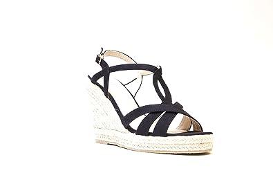 Blue Gc Ladies shoes Cali Wedge Sandal Origional