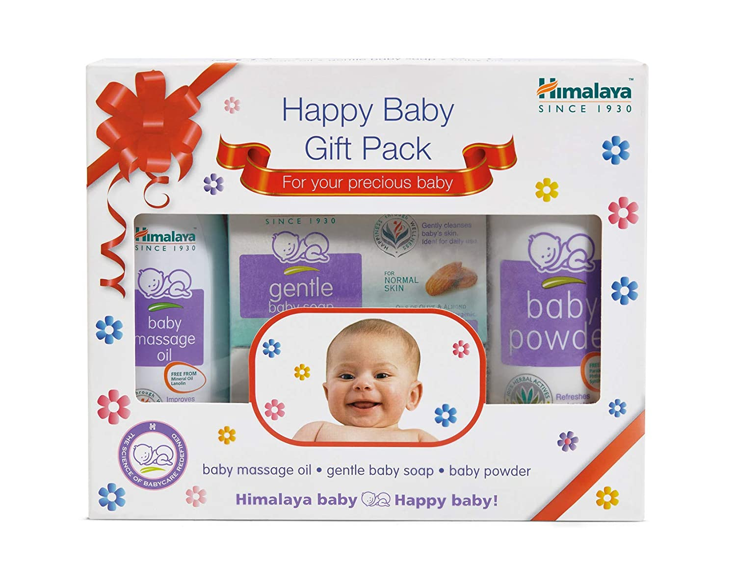 Himalaya Herbals Babycare Gift Box (Oil, Soap and Powder)