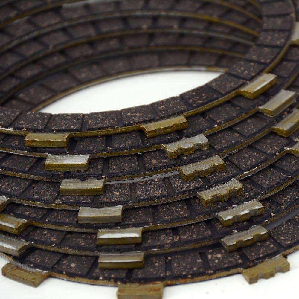 For Yamaha XVS650 Drag Star 97-03 V-Star 04-15 XVS650A 98-10 Clutch Plates Set