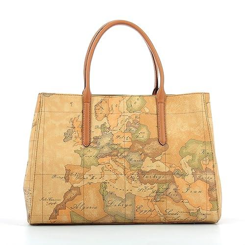 grande collezione nuovi prodotti caldi più alla moda BORSA ALVIERO MARTINI GEO CLASSIC LARGE HAND BAG CD0886000 NATURAL