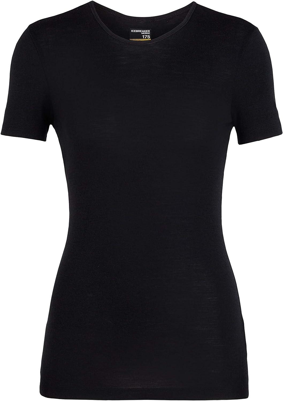 Icebreaker Merino Womens 175 Everyday Merino Wool Base Layer Short Sleeve T-Shirt