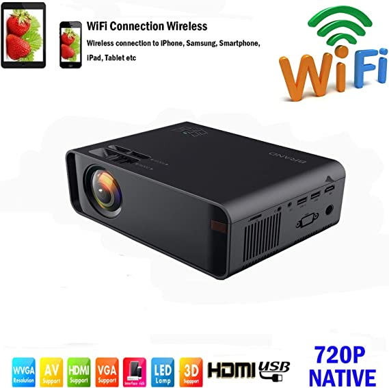 SOTEFE® Mini LED Proyector Portable 7000 Lumens: Amazon.es ...