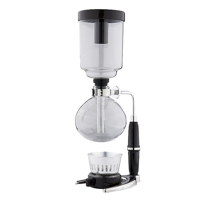 Amazon.com: Cafe de Tiamo 5 tazas sifón/sifón aspiradora ...