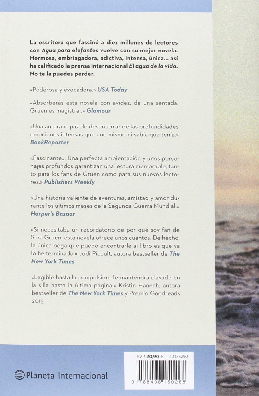 El agua de la vida (Planeta Internacional): Amazon.es: Sara Gruen, Claudia  Conde Fisas: Libros