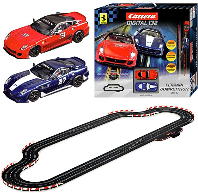 Carrera 20030147 Digital 132 Racing Set Ferrari Competition Amazon De Spielzeug