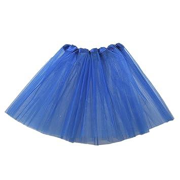 RETYLY Vestido de Ballet Moderno de Hadas de Falda Azul Oscuro ...