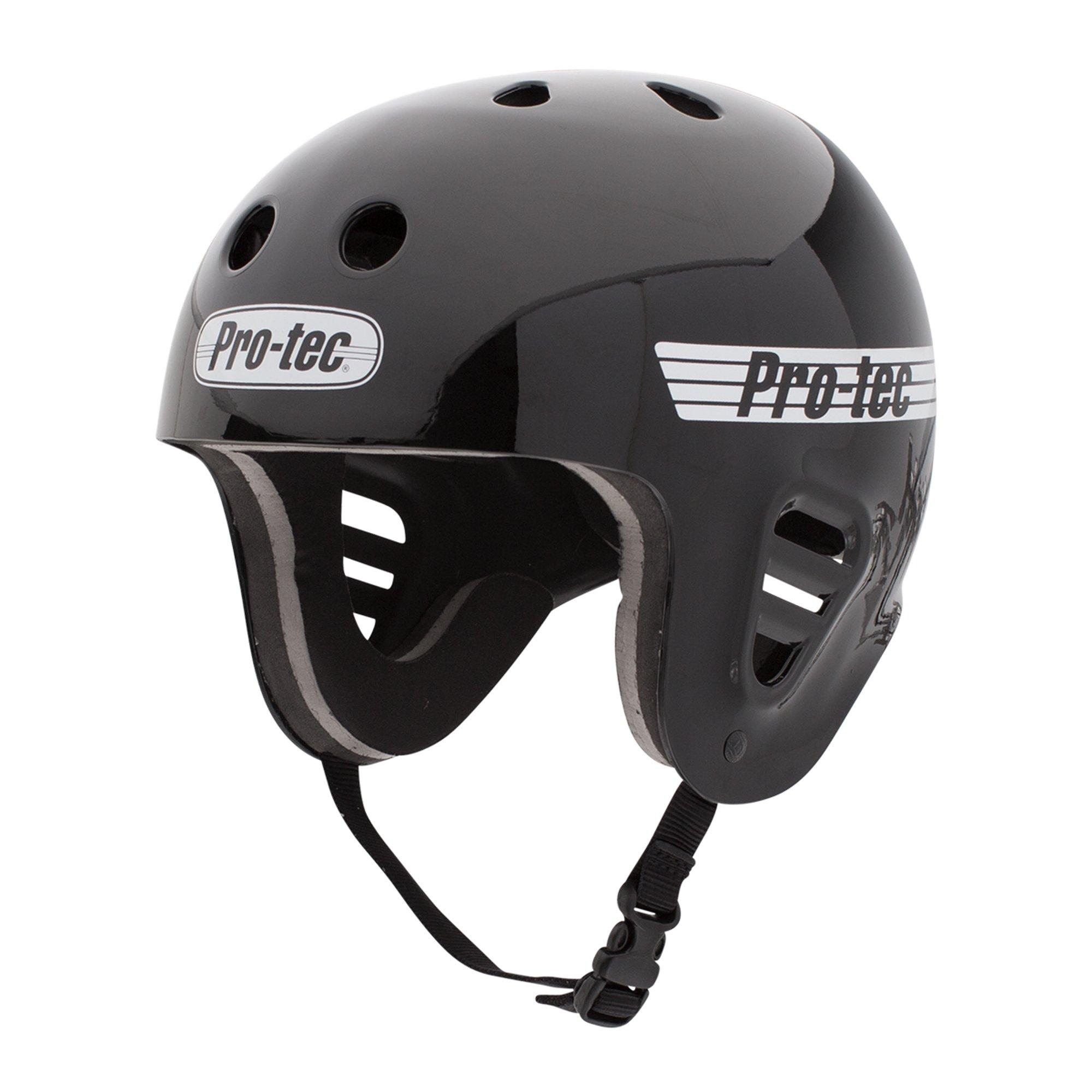 Pro-Tec Full Cut Water Helmet, Gloss Black, XS by Pro-Tec