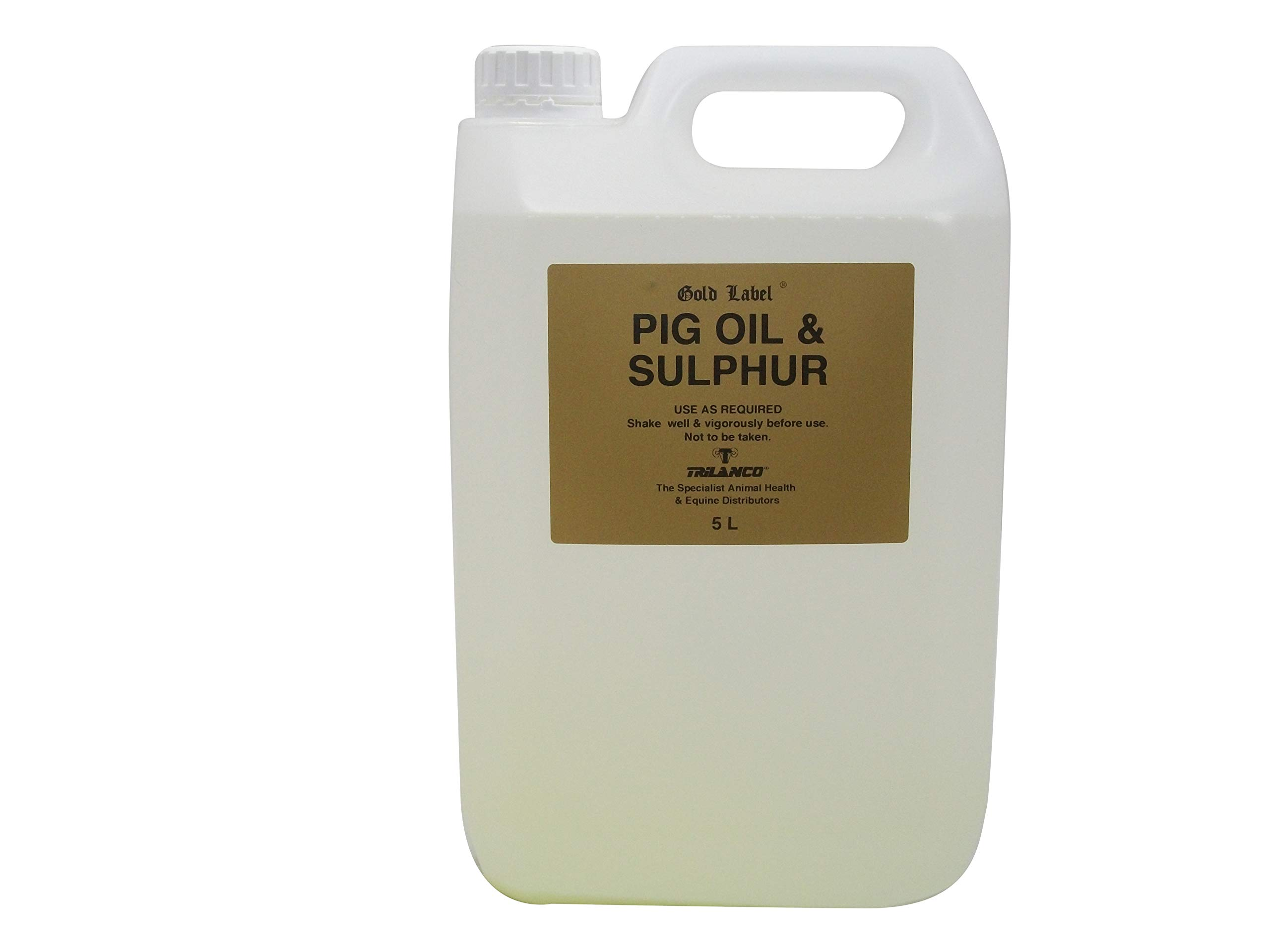 Gold Label Pig Oil & Sulphur 1.0Lt / 5.0Lt