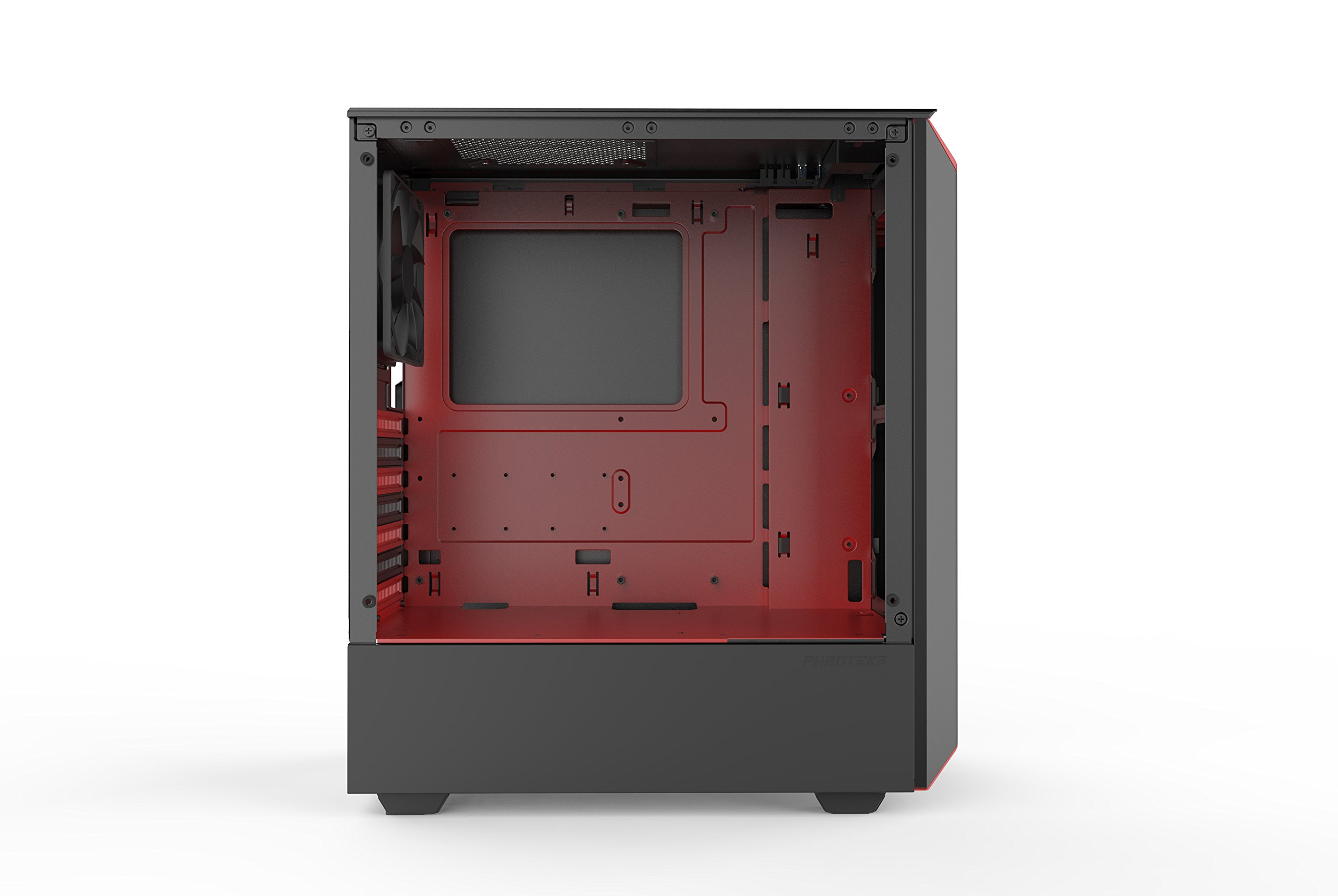Phanteks PH-EC300PTG_BR Eclipse P300 Tempered Glass Steel ATX Mid Tower Case Black/Red by Phanteks (Image #4)