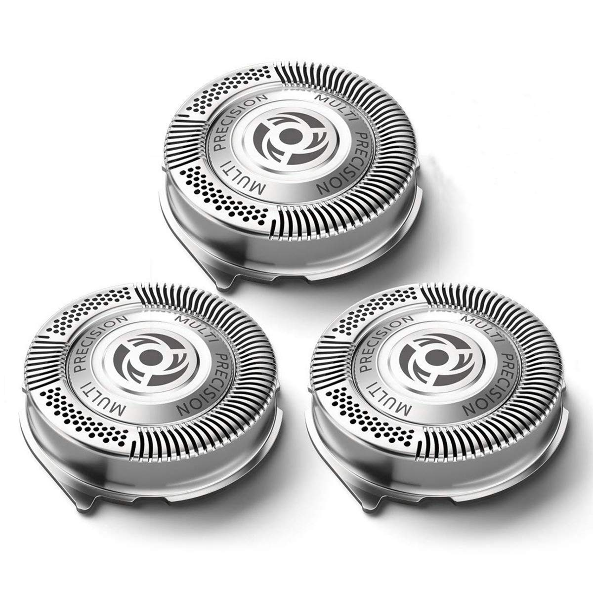SH50 Replacement Heads for Philips Norelco Shavers Series 5000, Replace HQ8 Heads, SH50/52 MultiPrecision Blades MADE IN NETHERLANDS
