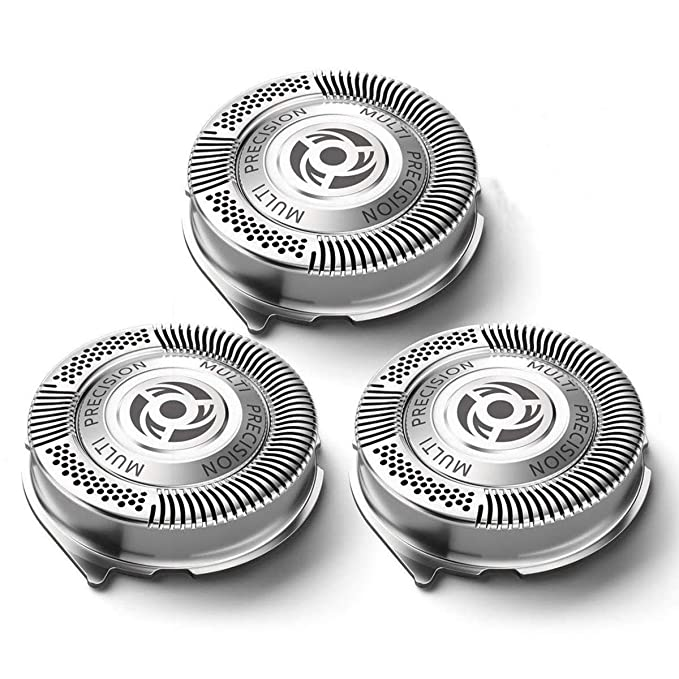 Amazon.com: SH50 Replacement Heads for Philips Norelco Shavers Series 5000, OEM MultiPrecision Blades SH50/52 MADE IN NETHERLANDS: Beauty
