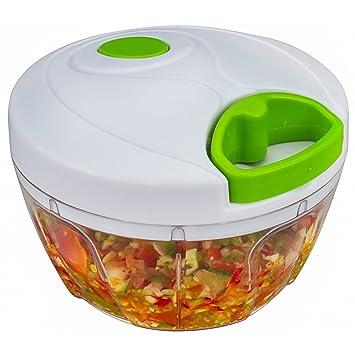xiaokang manual Alimentos Chopper, compacta y potente mano verduras verduras chopper – Picadora de carne