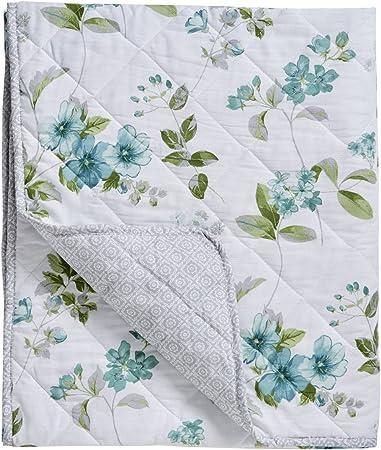 48/% Coton Couvre-lit, Dreams /& Drapes 52/% Polyester Vert
