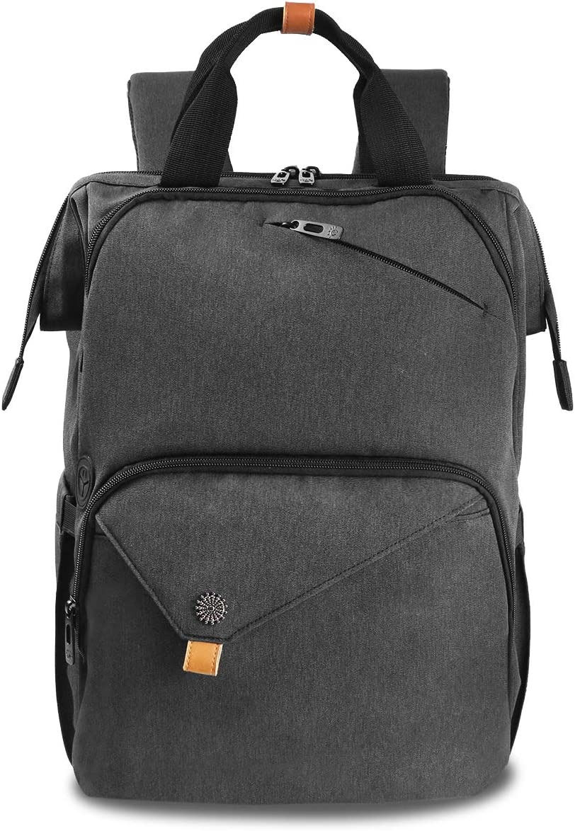 Dbwin Laptop Backpack for Women Men Waterproof Slim Light travel backpack fits up to 15.6 inch computer Large College School Backpack DB-7651DG