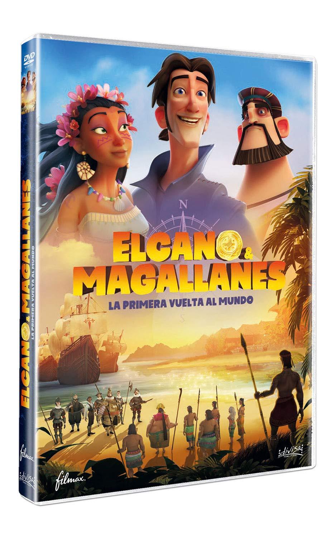 Elcano y Magallanes: la primera vuelta al mundo [DVD]