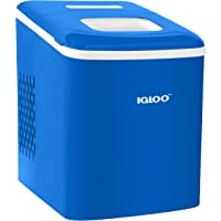 Igloo ICEBNH26BL Automatic Self-Cleaning Portable Electric Countertop Ice Maker Machine, 26 Pounds in 24 Hours, 9 Ice…