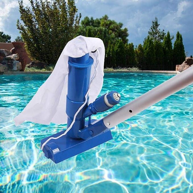 Tarente Tragbarer Pool Filterreiniger reinigen B/ürstenreinigungswerkzeug Pool-Zubeh/ör