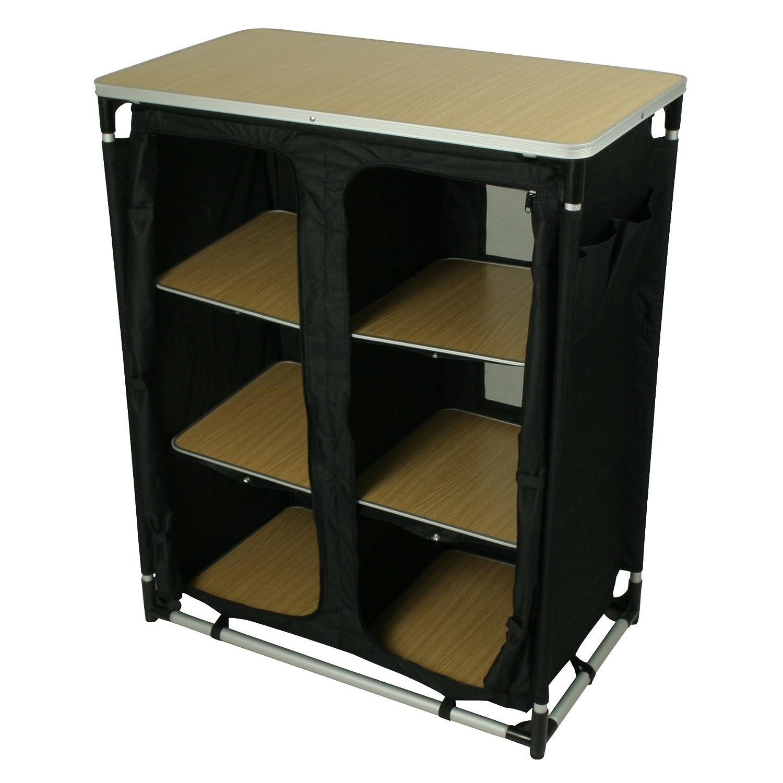 10T Cambox Multi Alu Campingschrank 85x50x105 cm Faltschrank mit ...