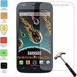 Owbb Protection écran en Verre Trempé pour Wiko Darkside Smartphone Films de protection Transparents Ultra Clear