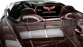Sunshade With Logo 2005-2013 GM Licensed C6 Corvette Folding Style Sun Shade
