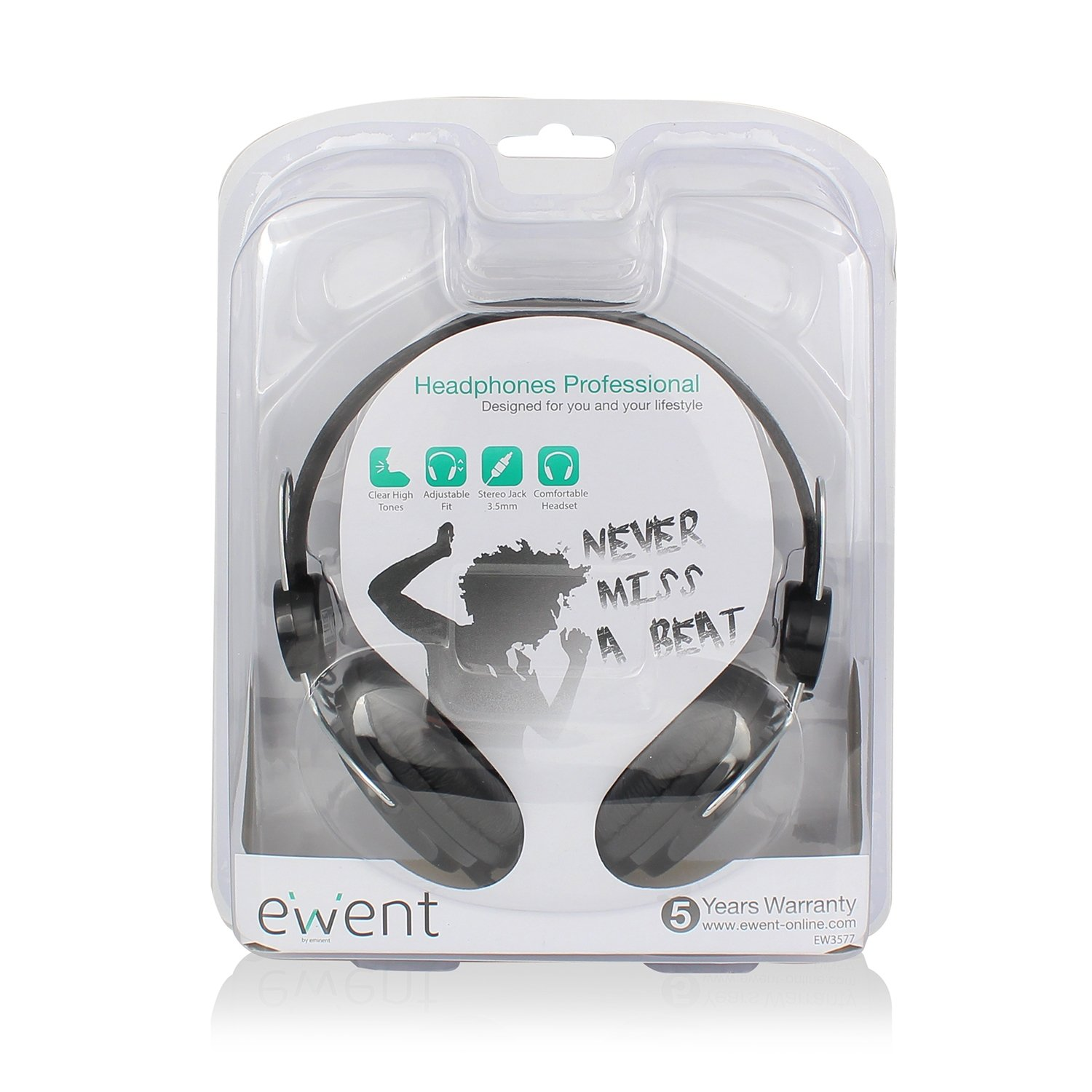 Ewent Cuffie Stereo Professionali ee955501269e