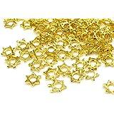 メタルパーツ 六芒星 ゴールド 20個 レジン ネイル 材料 パーツ