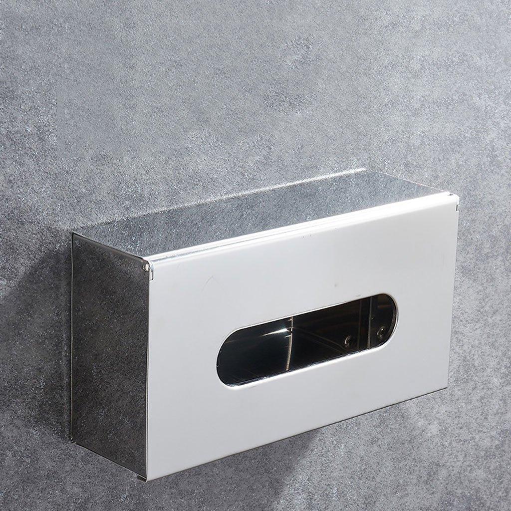 TY-Taschentuchbox 304 Edelstahl Tissue Box Wohnzimmer Tissue Box Hygiene Hygiene Hygiene Tissue Box Wandbehang Tissue Box Desktop Tissue Box B07KLNW5N1 Toilettenpapieraufbewahrung 002f0d