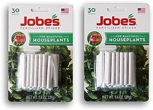 Jobes Fertilizer Spikes for Houseplants - 60 Count