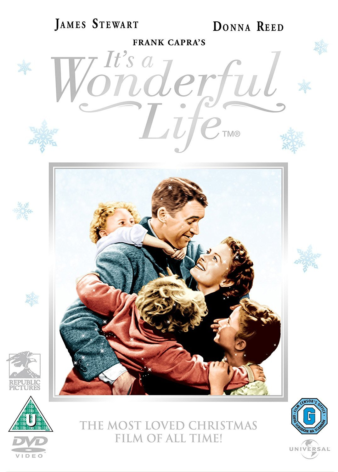 It\'s a Wonderful Life [DVD] [1946]: Amazon.co.uk: James Stewart ...