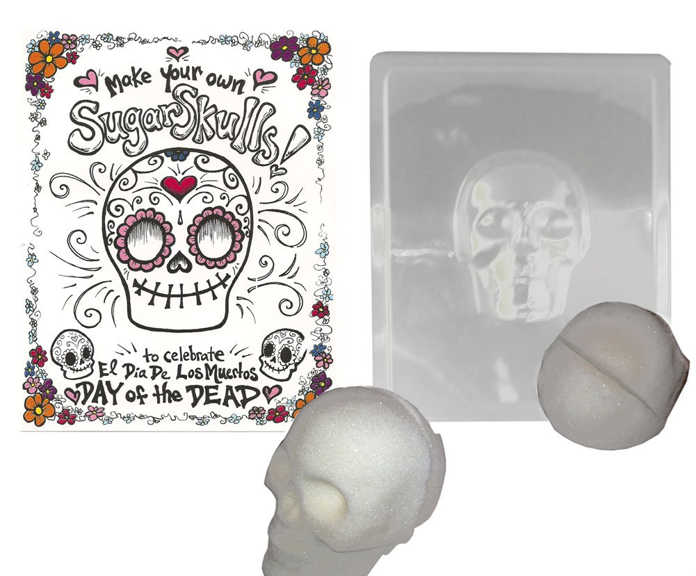 Make your Own Sugar Skull- Mold Makes Decorative Skull for Day of the Dead by One Hundred 80 Degrees