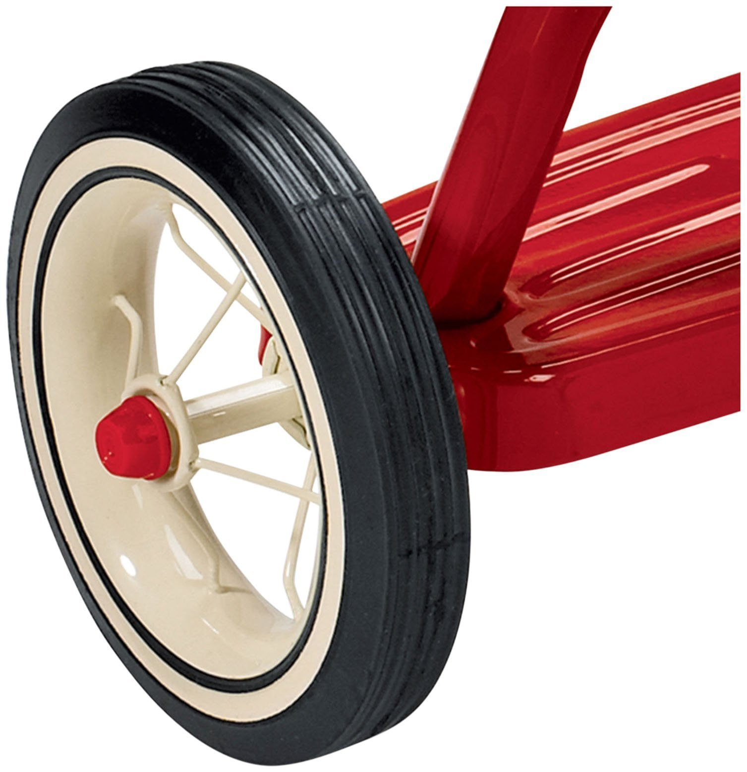 Radio Flyer Classic Red Dual Deck Tricycle by Radio Flyer (Image #4)