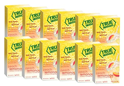 Amazon.com: True Limón Peach Limonada Bebida mezclar, 10 ...