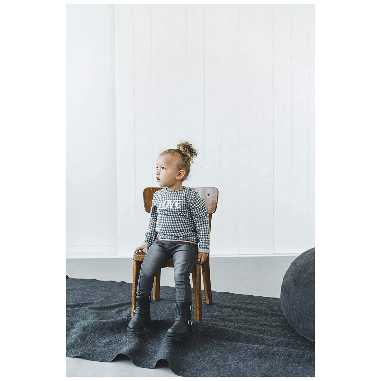 Pr/énatal M/ädchen Kleinkind Pullover Grau