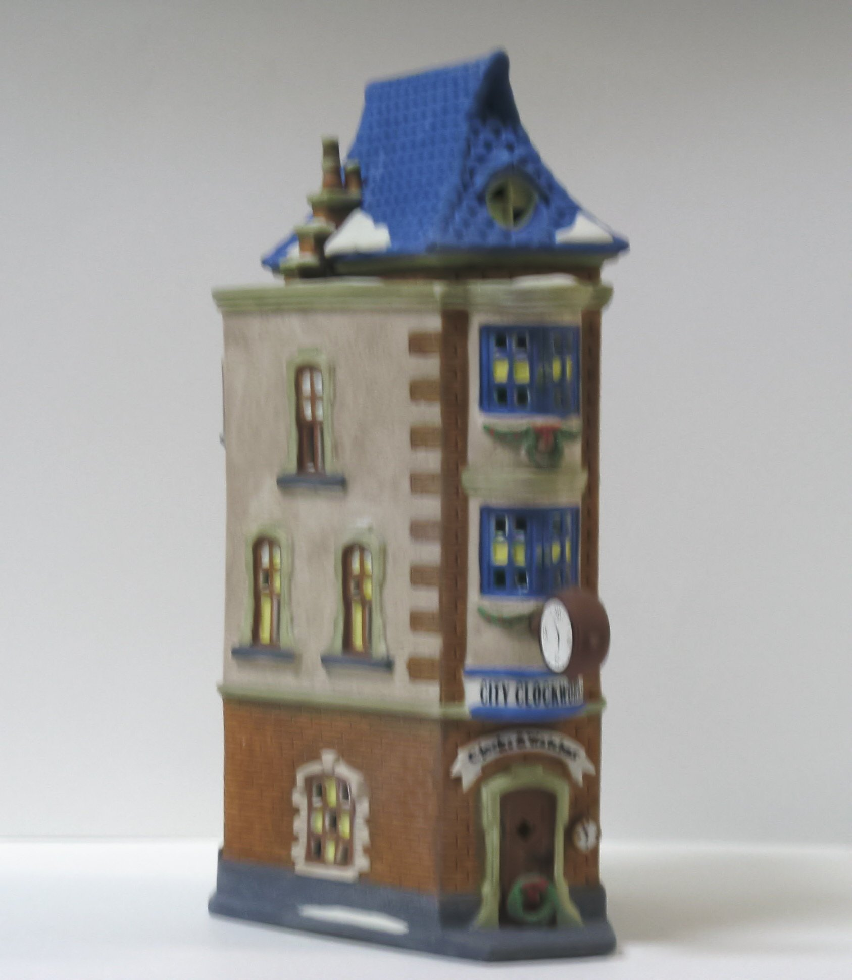 Department 56 Heritage Village Collection ; Christmas in the City Series ; City Clockworks ; Handpainted Porcelain 5531-0