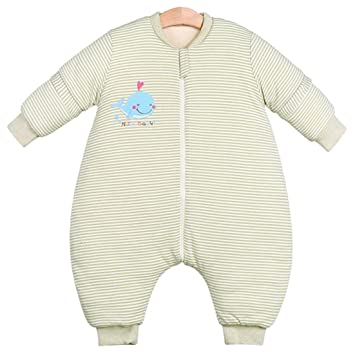 ae3a56498294 Amazon.com  Chilsuessy Winter Baby Sleeping Bag with Feet