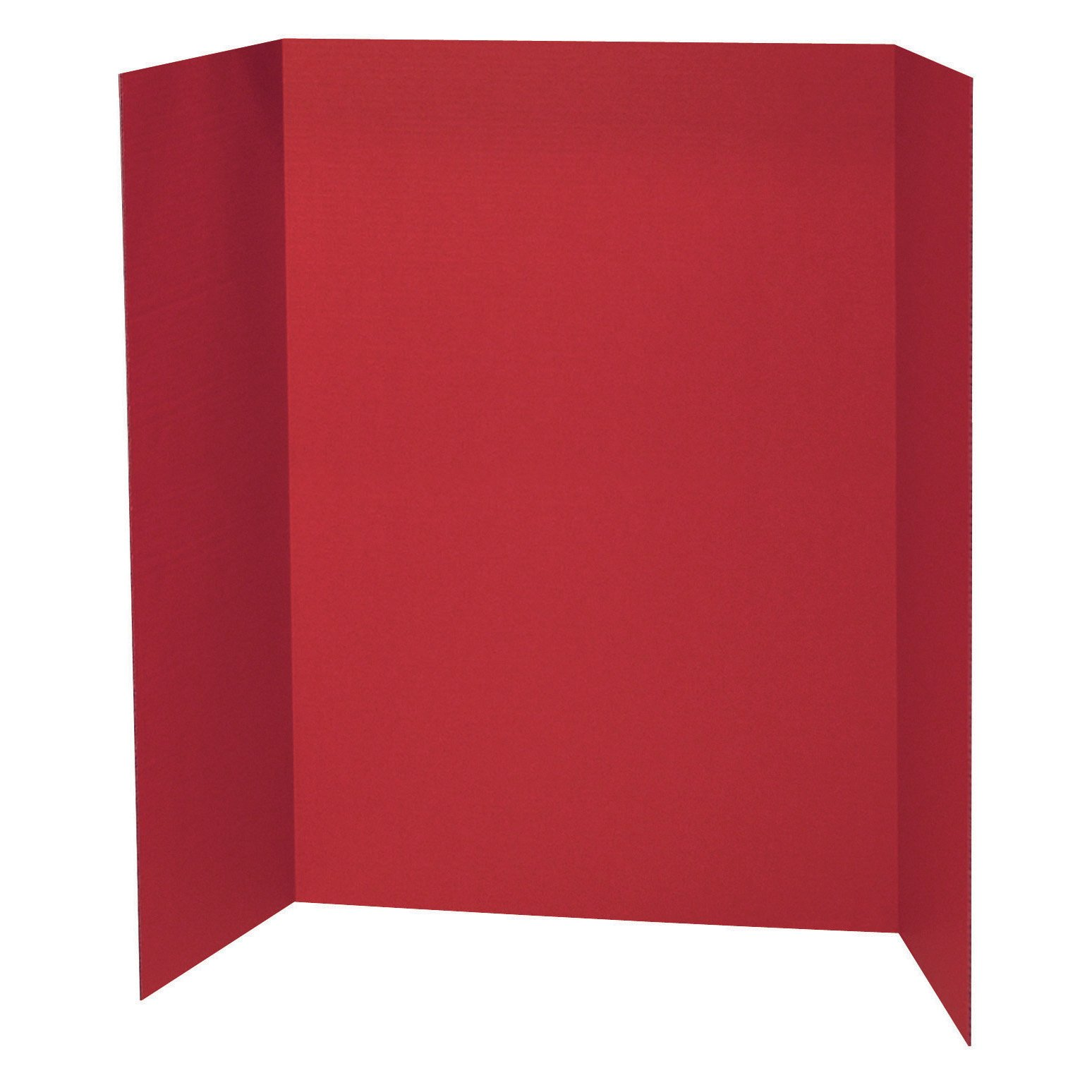 Pacon PAC3770 Presentation Board, 48'' x 36'', Red