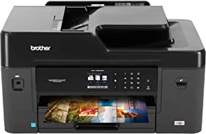 Brother MFC-J6530DW All-in-One Color Inkjet Printer, Wireless Connectivity, Automatic Duplex Printing, Amazon Dash Replenishment Ready