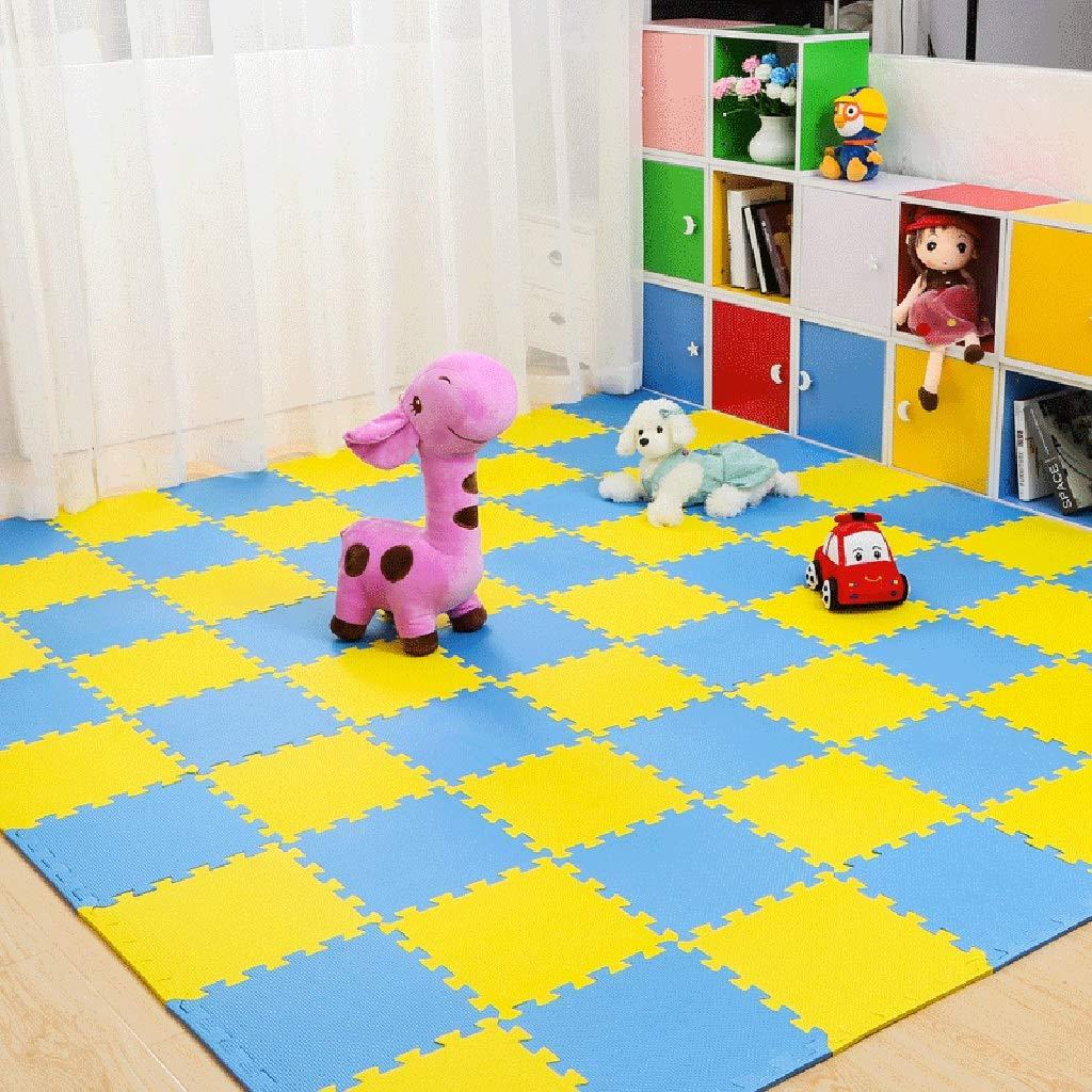 LFY Kinder-Puzzle-Spielmatte, große Schaumgummimatten (Farbe   C, größe   35 Piece) C 20 piece