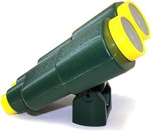 Eastern Jungle Gym Extra Large Plastic Toy Binoculars Green Swing Set Accessory for Kids Backyard Wooden Swing Set