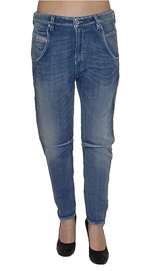 Diesel Damen Stretch Jogg Jeans FAYZA 0800H Boyfriend blau