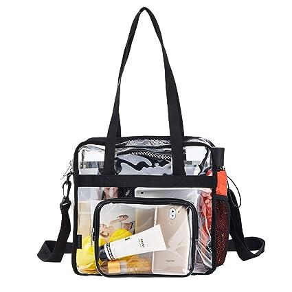 Amazon.com: Bolsa transparente de plástico con diseño de ...